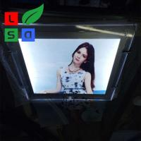 Anti Rust LED Crystal Light Box High Brightness Photo Frame For Advertising