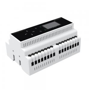 Buy cheap DIN Rail DC-NET Lighting Control Module 128*64 LCD Information Display 2 Watts product