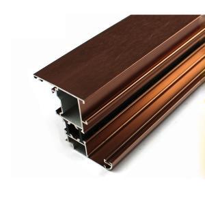 Buy cheap Piezas durables de la ventana de aluminio, perfil de aluminio de encargo de pulido mecánico product