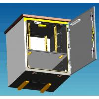 Buy cheap Natural Ventilation Pole Mount Enclosure / Equipment Battery Small Outdoor from wholesalers