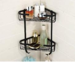 Buy cheap Triangle Bathroom Basket Shower Organizer Bath Shelf Rack Soap Container Corner product