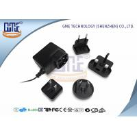 Buy cheap Glucose Meter Interchangeable Plug Power Adapter 6v 250mA Max Input Current product