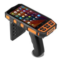 Buy cheap Mobile Portable Rfid Reader Writer , Android Rfid Barcode Reader With Large Screen product