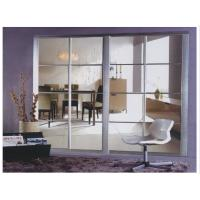 Buy cheap BF-1004 Aluminum Partition Sliding Doors For Bedroom, Interior Bypass Sliding Door With Glass Factory product