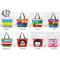 Buy cheap Multiple Designs Lady Canvas Recycle Grocery Bags Cartoon Pattern Girls Shoulder Bags Handbags product