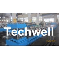 Buy cheap Three Wave Highway Guardrail Cold Roll Forming Machine for 3 Wave Guard Rail Beam product
