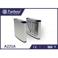 Quality Software Flap Barrier Turnstile Access Controller With Long Life Span for sale