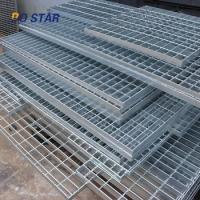 Buy cheap Metal Floor Heavy Duty Bearing  Stainless Steel Grating Bar Serrated Flat Steel product