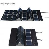 China 120 Watt 12 Volt Solar Panel Battery Charger Outdoor Multifunctional Vglory / OEM on sale