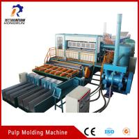Buy cheap 6000pcs/h big capacity recycling waste Paper Egg Tray Making Machine from wholesalers