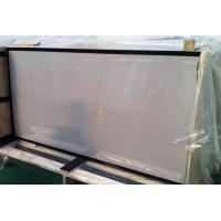 Safety Tempered Glass for Solar Panels 3.2mm low iron with black boarder printing