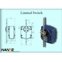 China Plastic Wheel Swing Arm Rotary Blue Limited Switch Used For Complex Cranes And Lifting Hoists wholesale