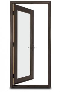 Buy cheap Hinged Operated Swing Aluminium Door , Right Hand Inswing Interior Door product