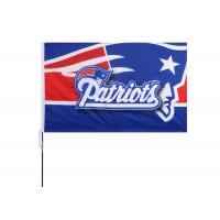 Buy cheap The New England Patriots Fans Large Logo Flag Size 100 x 150CM  3D National Logo product