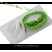 Buy cheap All knids of Promotional Non-standard Customized silicone wristband with USB flash Drive product