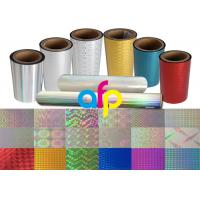 Buy cheap Flexible Packaging BOPP Holographic Film product