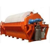 Buy cheap Iron Ore Slurry Rotary Disc Filter , Vacuum Filtration System Energy Saving product