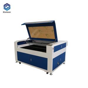 China Acrylic / Wood / Metal CO2 Laser Cutting Machine 80/100/150W High Speed 0.025mm Accuracy on sale