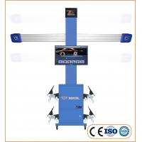 Buy cheap Automatic 3D Wheel Aligner Machine Tire Balancing With Multi Languages Database product