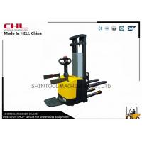 Buy cheap CE Electric Pallet Stacker for material handling / supermarket stacker product