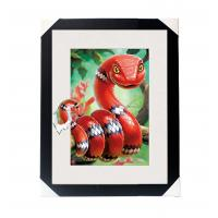 Buy cheap Amazing 5D 30*40CM Lenticular Picture With PS Frame / 3D Animal Images product