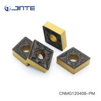 Buy cheap ISO Square Carbide Inserts , Carbide Turning Tips Inserts CNMG120408 - PM product