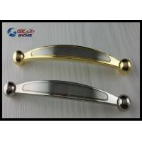 Buy cheap Chrome 64mm Kitchen Cabinet Handles , Modern Bathroom Drawer Pulls Arched Golden product