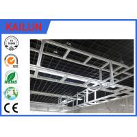 Buy cheap Customized Aluminum I Beam ,  6005 / 6063 / 6061Structural Aluminium Beams product
