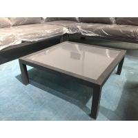 China All aluminum Coffee Table with Smoke Glass for Hotel, Garden and Beach by Clover Lifestyle China Outdoor Furniture on sale