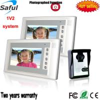 China Fashionable 200 meters transmission wired intercom video door phone peephole on sale