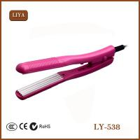 China Ionic Ceramic Flat Iron Fast Heat Design Gorgeous Hair Straightener wholesale