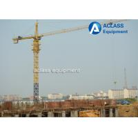 Buy cheap QTZ6012 Hammerhead Tower Crane 8 ton 60m Jib Hydraulic Overhead Crane Machine product