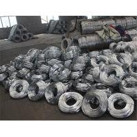 Low Carbon Material Galvanized Binding Wire Corrosion Resistance For Spring Steel Wires