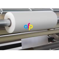 Buy cheap 18 Mic Matte Lamination Film For UV Varnish 17 - 250 Micron Thickness Optional product