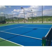 Buy cheap Outdside Seamless Tennis Court Flooring Thick Polyurethane Material Full System product