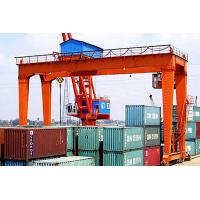 Buy cheap Container Double Girder Gantry Crane Rail Mounted Electric Mobile 5~30m Lifting Height product