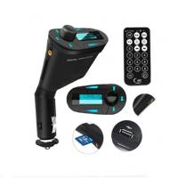 Buy cheap Free Shipping Car Kit MP3 Player Wireless FM Transmitter USB SD MMC Charger for Mobilephone product