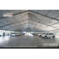 Buy cheap 30m White PVC High Peak Tents with Hard Pressed Extruded Aluminum Alloy Frame product