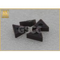 Buy cheap Processing Steel Carbide Tool Inserts / PVD Coating CNC Insert Tooling product
