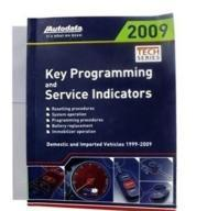 China Auto data key programming 2009 (Book) on sale