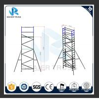 China Steady Adjustable Aluminum Plank , Dia 50mm Aluminum Alloy 6m Scaffold Tower on sale