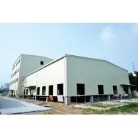 China Fast Assembling Metal Frame Structure , Steel Bar Commercial Metal Buildings on sale