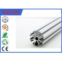 Buy cheap Round T Slot Aluminum Extrusion for Aluminium Construction Profiles Mounting Frames product