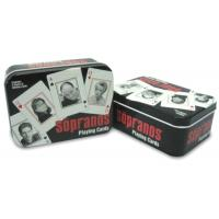 China Casino quality playing cards in tin box on sale
