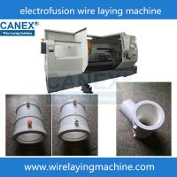 Quality horizental cnc automatic polyethylene fittings wire laying machine canex wire for sale