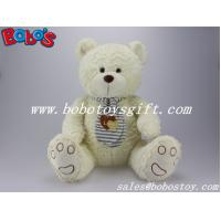 Buy cheap EN71 Approved Lovely Beige Teddy Bear Toys With Scarf product