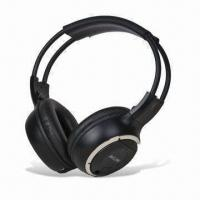 Buy cheap Single Channel In-car Infrared Wireless Headphones, Compatible with All In-vehicle AV Applications product