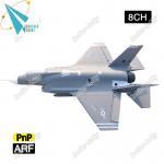 F-35 8CH Electric large EPS foam rc model airplane EDF jet