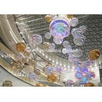 China 2.5m Diameter Inflatable Mirror Balloon / Events Decoration Silver Reflective Ball on sale