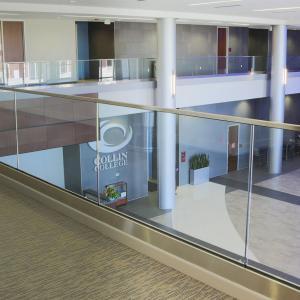 Buy cheap Indoor Glass Railing Balcony / U Channel Aluminium Profile for Glass Railing product
